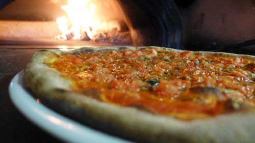 pizza stone oven fire