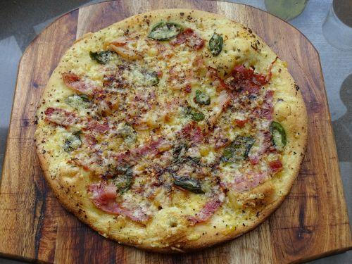 pizza gourmet pizza bianca