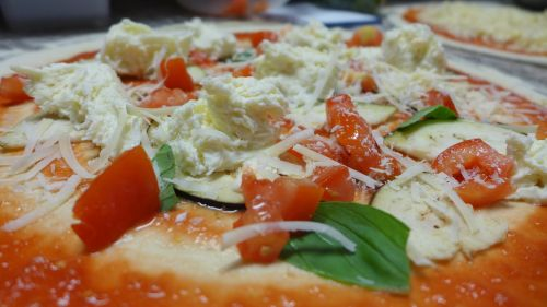 pizza dough lunch