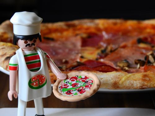 pizza pizza maker cooking