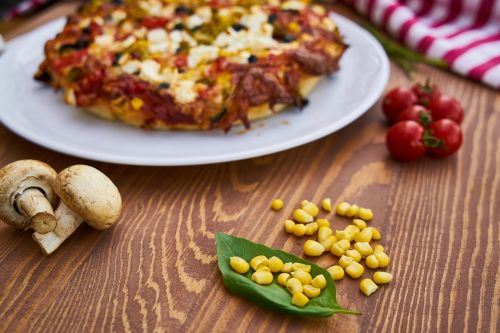 pizza plate dough