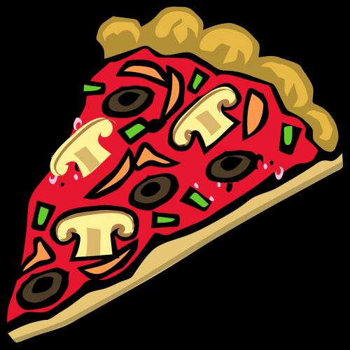 pizza mushroom peppers