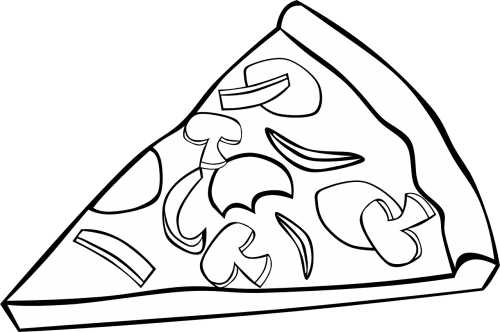 pizza slice toppings