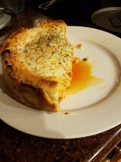 pizza  stuffed  cheese