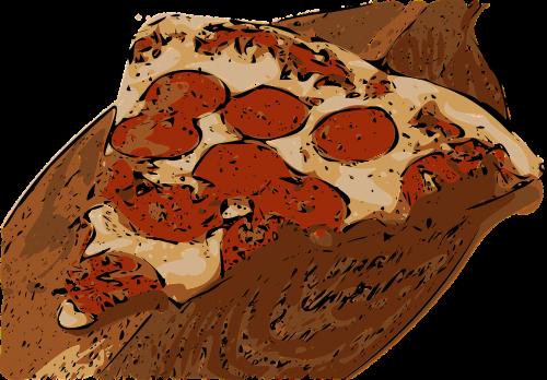 pizza slice pepperoni