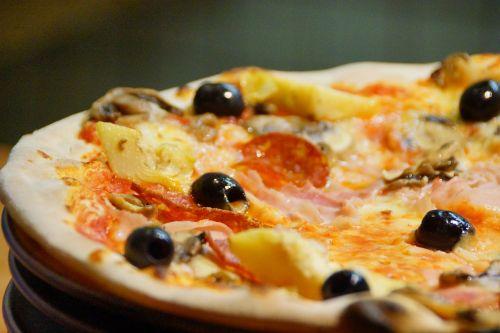 pizza food dish