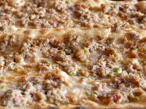 pizza pizza topping turkish pizza