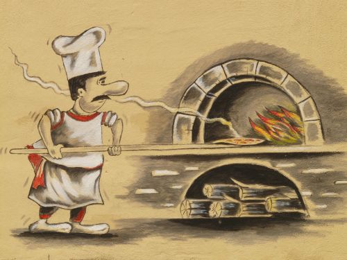 pizza maker pizzeria pizza oven