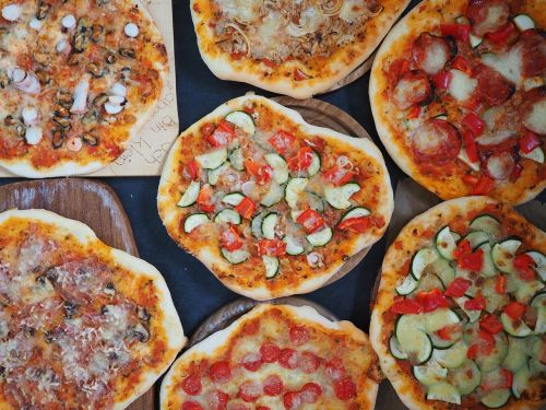 pizzas bake nutrition