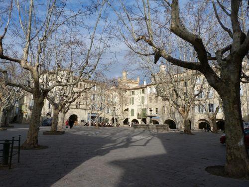 vieta,miestas,france,arcade,senas,architektūra,uzès,miesto kraštovaizdis