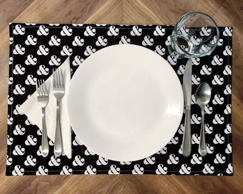 placemat plate place