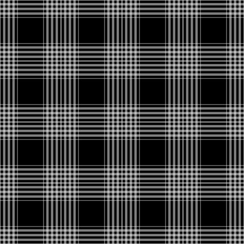 Plaid Checks Background Black