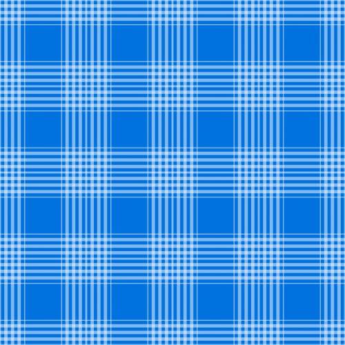 Plaid Checks Background Blue