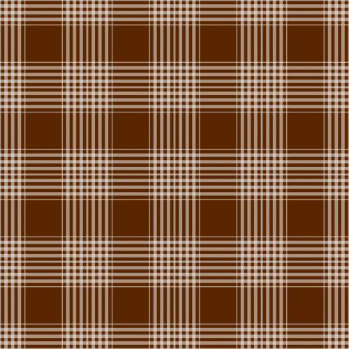 Plaid Checks Background Brown