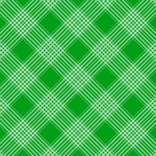 Plaid Checks Background Green