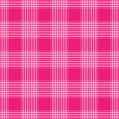 Plaid Checks Background Pink