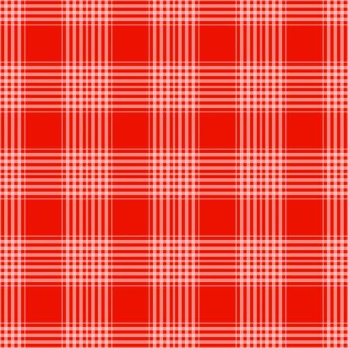 Plaid Checks Background Red
