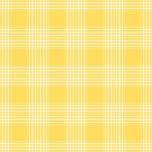 Plaid Checks Background Yellow