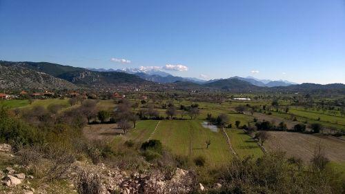 plain mountain taurus mountains