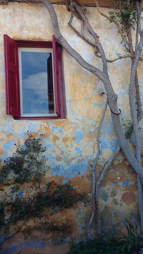 plaka athens old windows