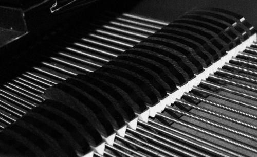 plan piano grand piano