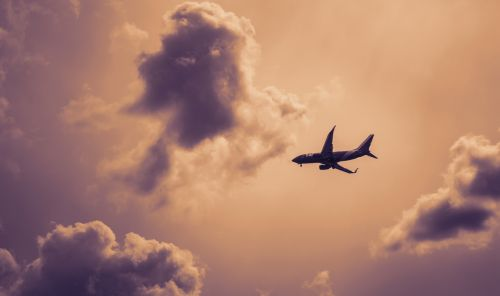 plane airplane sky
