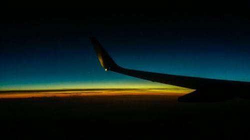 plane flight wings