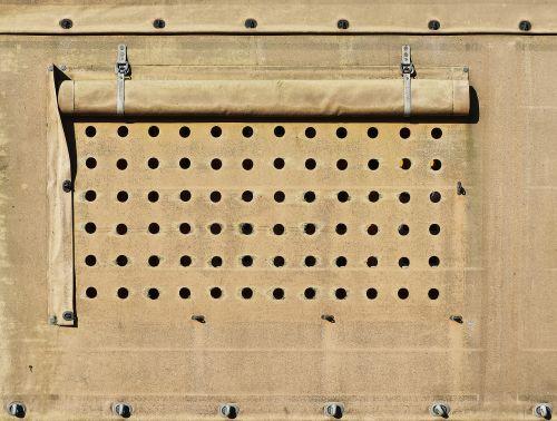 plane ventilation holes