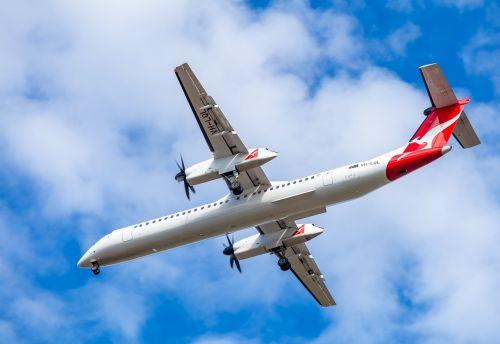 plane passenger plane qantas