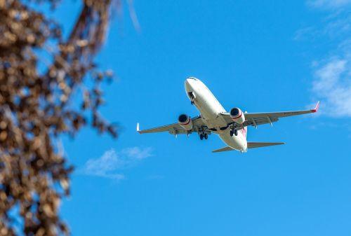 plane passenger plane jetliner
