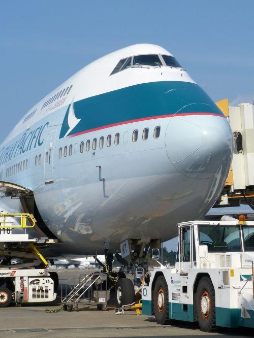 plane airline blue sky