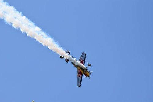 plane  acrobatic  sky
