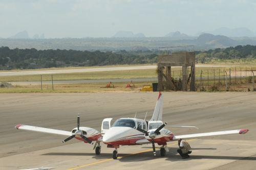 plane mozambique africa