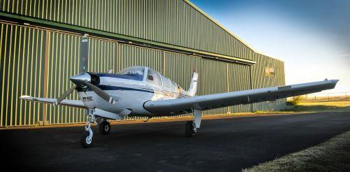 plane hangar aircraft
