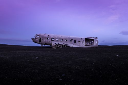 plane abandoned wrecked