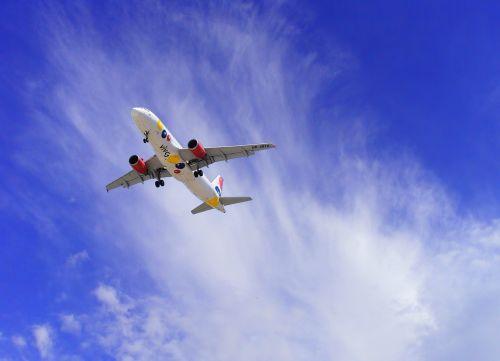 plane aviation air transport