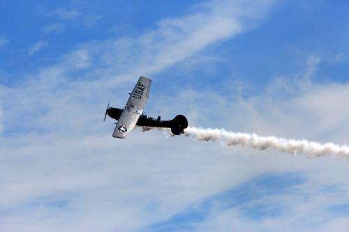plane air show pilot