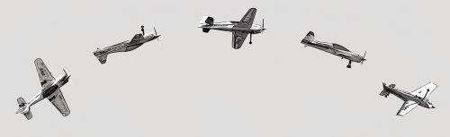 planes sky flight