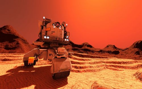 planet mars rover