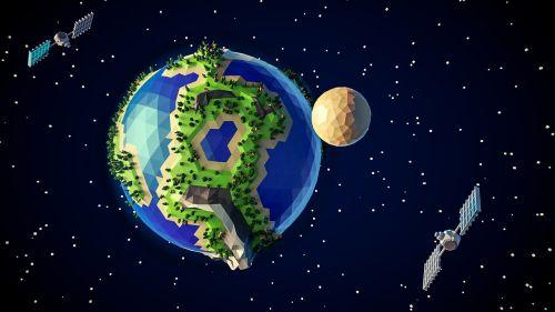 planet ufo the globe