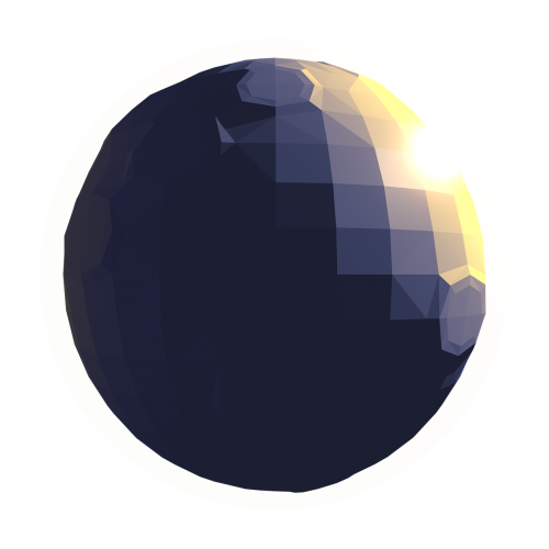 planet low poly