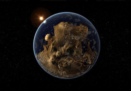 planet sun stars