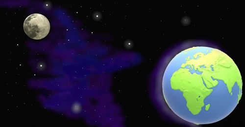 planet moon earth companion