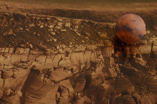 planet model mars