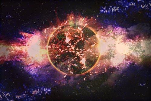 planet  universe  space