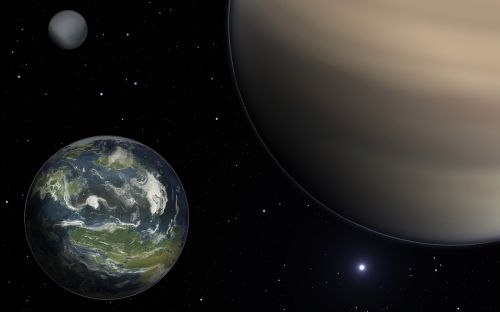 planet exomoon exoplanet
