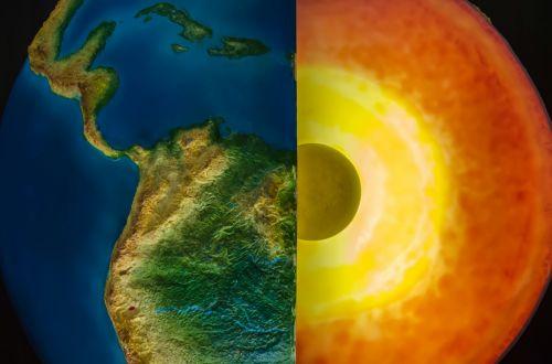 Planet Earth Center Core