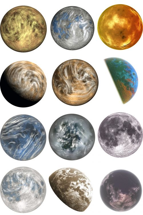 Planets Unknown