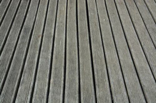 planks of wood strips of wood terrace