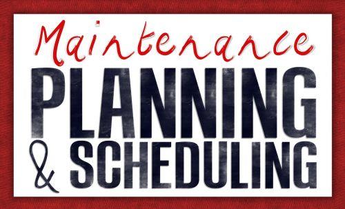 planning schedule scheduling